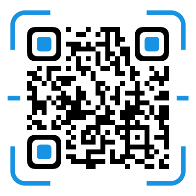 QR code of mobile website